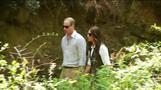 British royals trek in Bhutan