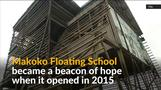 Storm destroys Nigeria's floating school