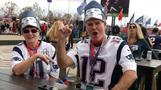 Fans ready for Super Bowl kickoff