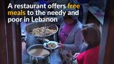 Lebanese restaurant offers free meals to needy