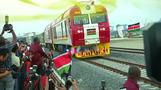Hopes Chinese-built railway can boost Africa trade