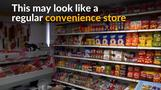 New York City convenience store bemuses shoppers with furry goods