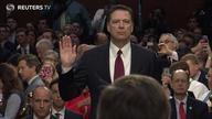 """前FBI局长科米国会作证 称特朗普解雇其理由""""一派谎言"""""""