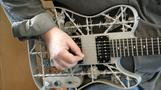 Heavy Metal - the first 3D-printed aluminium guitar