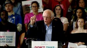 GOP healthcare bill a 'moral outrage': Sanders