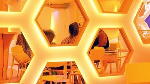 Dating app Bumble opened a popup lounge