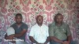 Boko Haram militants release hostage video