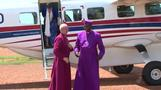 The Archbishop of Canterbury visits South Sudanese refugees in Uganda