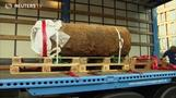 Massive WWII bomb defused in Frankfurt