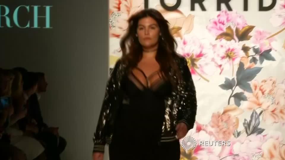 b4d9d87ffb3 Plus size brand Torrid makes New York Fashion Week debut