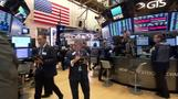 Wall St falls as banks weigh