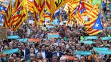 Protests as Spain says it will sack Catalan leaders