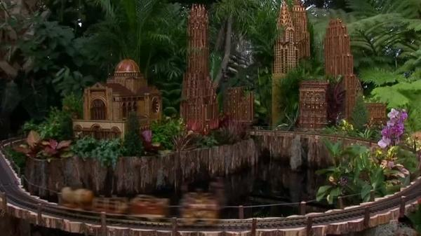'Choo Choo' goes the New York Botanical Garden Holiday Train Show