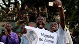 ジンバブエ大統領が辞任、37年の独裁体制に幕(字幕・21日)