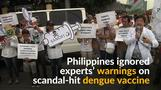 Philippines defied expert warnings on suspended dengue vaccine
