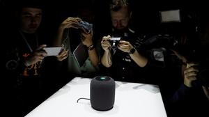 Apple launches HomePod, taking on Google, Amazon