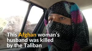Afghan woman joins police force after husband killed by the Taliban