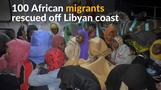 Over 100 migrants rescued as EU looks to step up Libya training