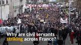 Mass strikes in France pose major challenge to Macron