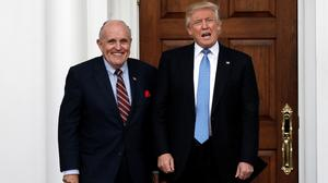 Giuliani joins Trump's legal team