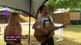World Cup at our music festival - \