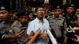 Myanmar court charges jailed Reuters reporters
