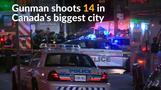 Gunman shoots 14 in Canada, killing one