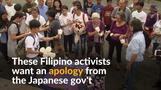 Filipino activists demand formal apology from Japanese government to 'comfort women'