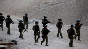 Activists ousted at West Bank Bedouin village