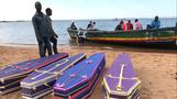 Survivor pulled from capsized Tanzanian ferry