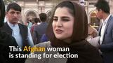 Women candidates brave violence in Afghan election
