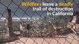 米カリフォルニア州の大火災、延焼続く(13日)