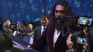'We wanted a bit of rock and roll rebel' - Momoa on 'Aquaman' in Beijing