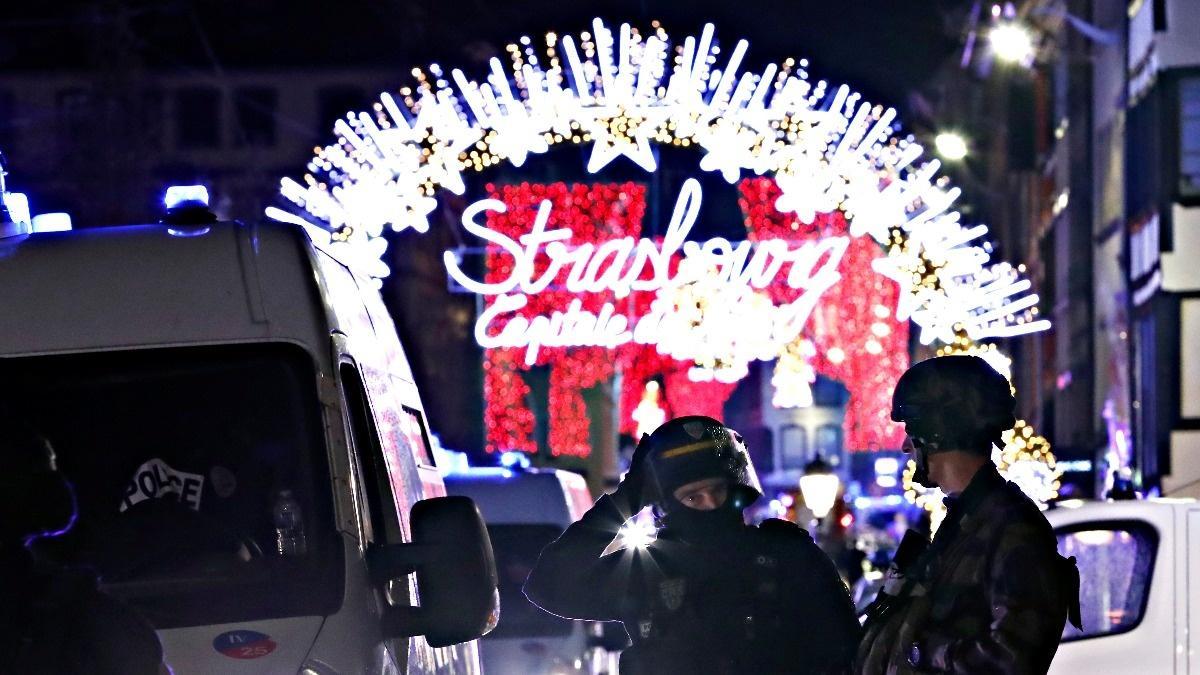 Gunman kills at least two in Strasbourg shooting