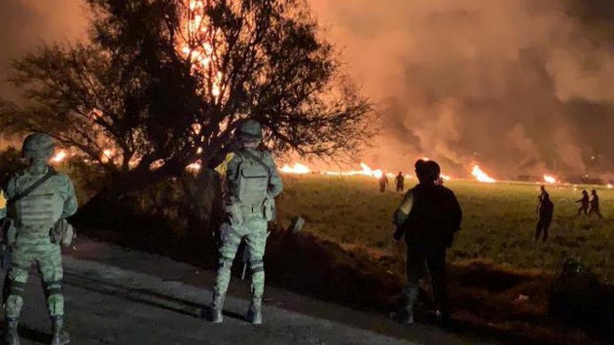Dozens killed in Mexico fuel pipeline blast