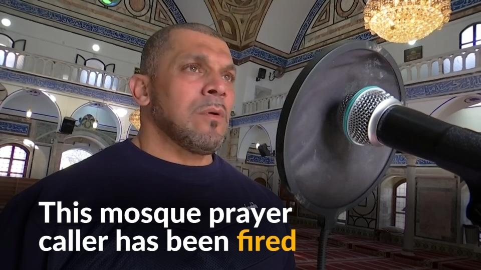 Israeli mosque prayer caller fired over 'revealing' bodybuilder outfit