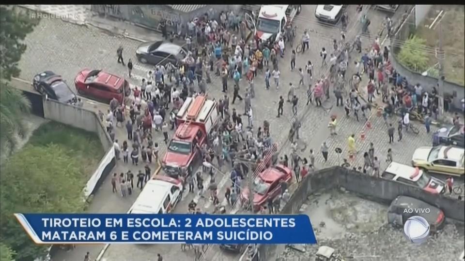 Eight dead in Brazil school shooting