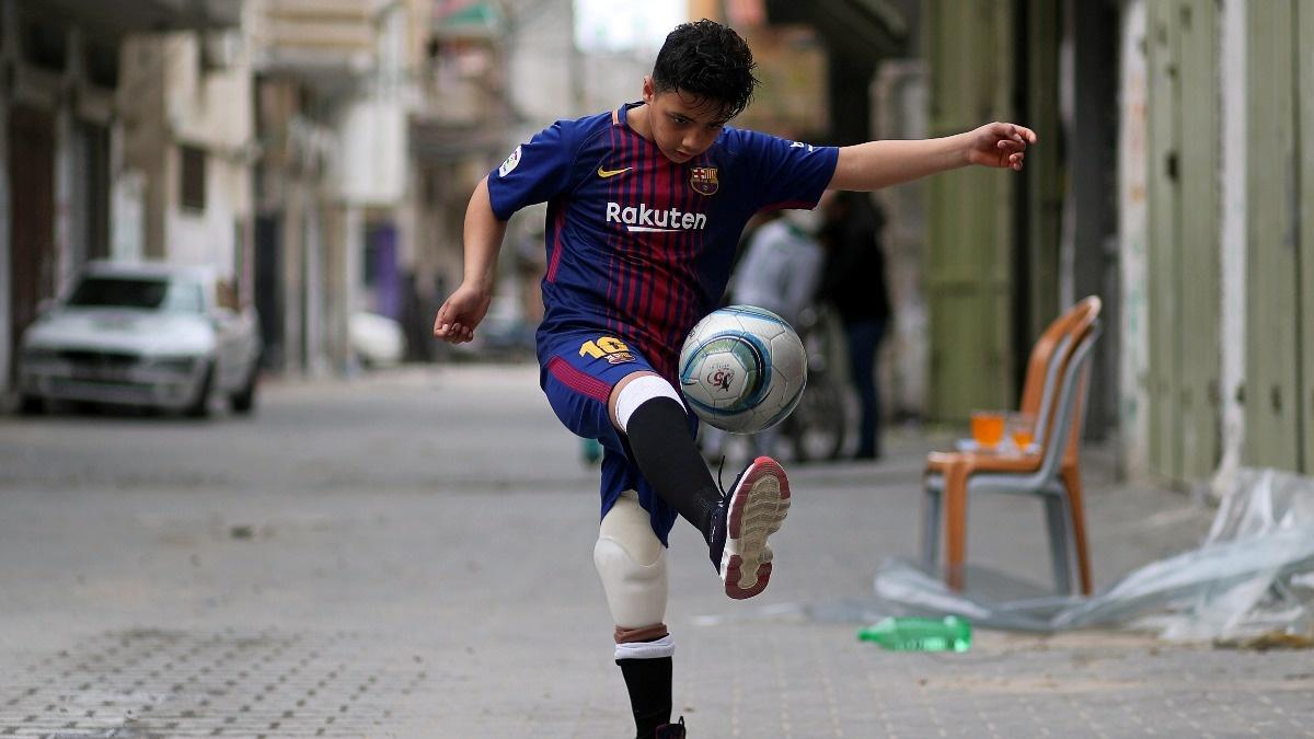 Artificial limbs change lives for Gaza protesters