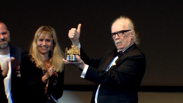 Cult horror director John Carpenter honoured at Cannes