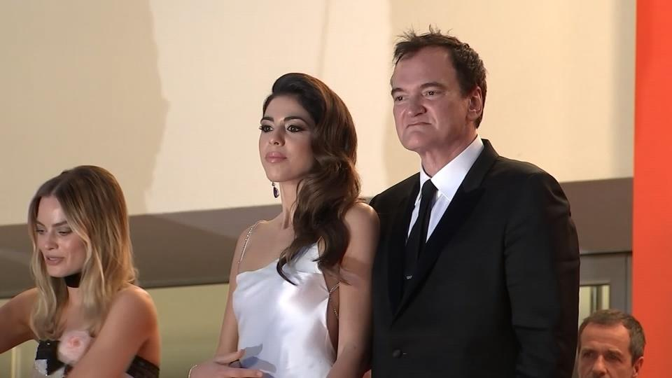 Newly-wed Tarantino gushes about his wife in Cannes