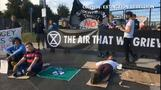 Climate activists disrupt London's biggest concrete supplier