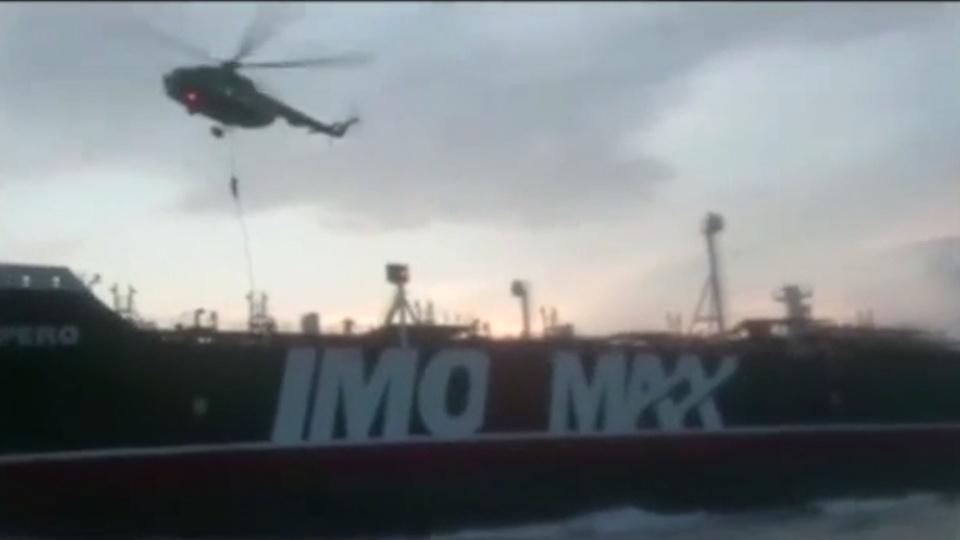 UK-Iran radio exchanges over Stena Impero emerge