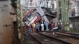 Truck and train collision in Japan kills one, injures at least 34