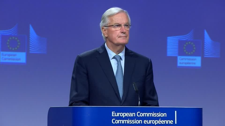 'We have delivered': Barnier after Brexit deal
