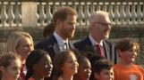 Prince Harry appears in public first time since royal split