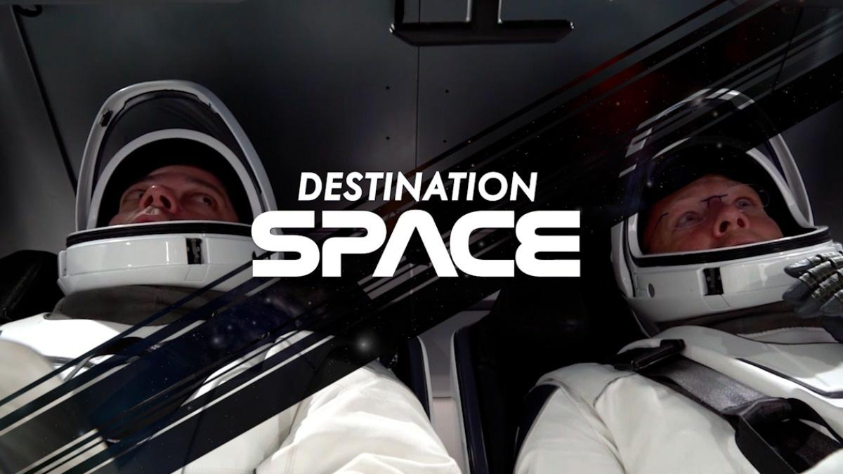 Destination Space: The first manned SpaceX mission