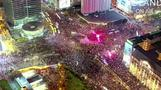 Drone video shows huge protest against Poland abortion ruling
