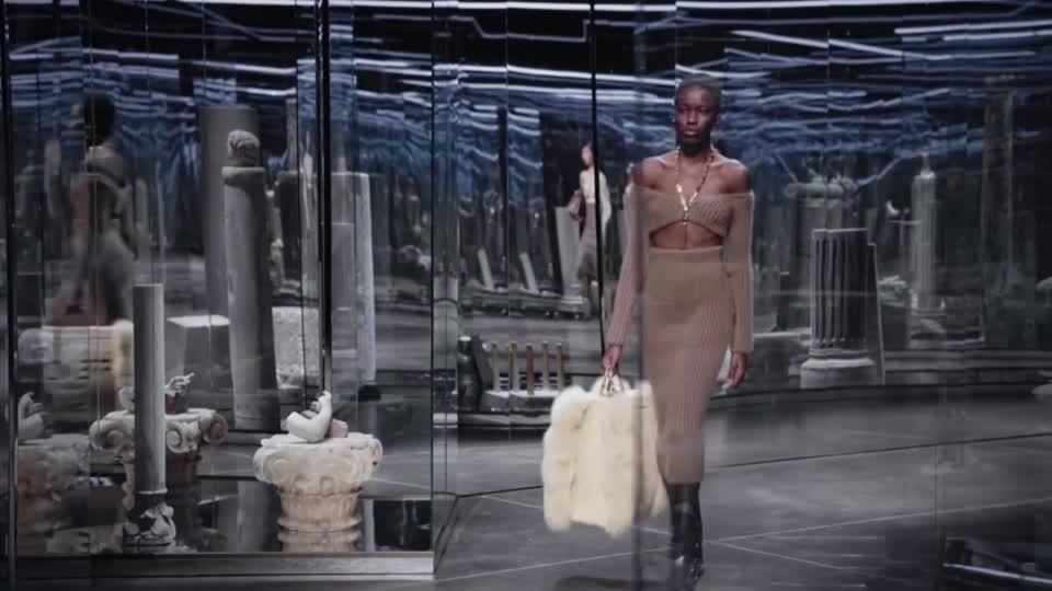 Fendi presents collection at Milan Fashion Week