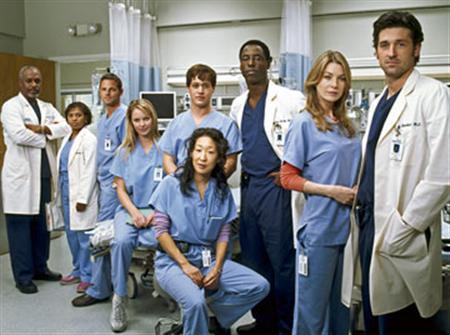 Cast Of Greys Anatomy Tops Entertainer List Reuters