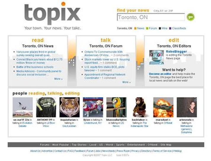 Craigslist Topix